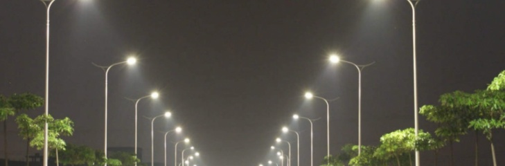 LEDs can reduce light pollution and save up to over 90% of energy consumption