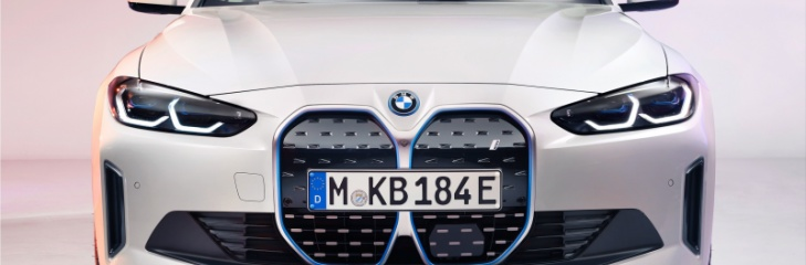 BMW i4 electric car
